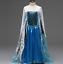 Kids Girls Costume Princess Dress Up Belle Snow White Anna Elsa ZG8