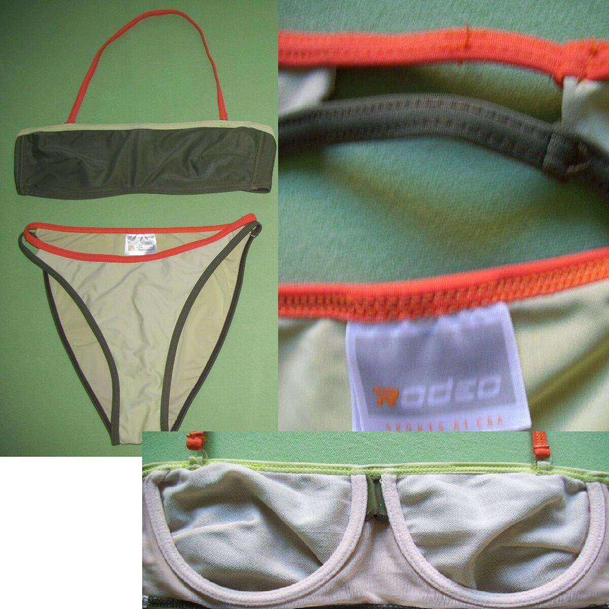 Rodeo C&A Bikini Gr.40 Bandeauoberteil m. Bügel + abnehmbaren Trägern