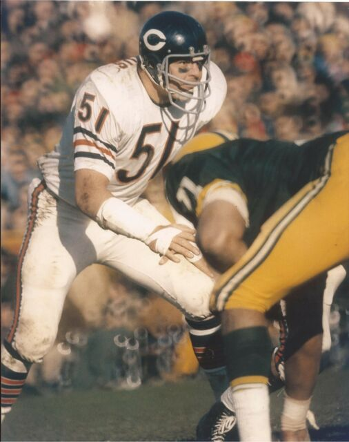 Dick Butkus 8X10 Photo Chicago Bears Picture Nfl Football -7538