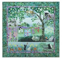 Wind in the Whiskers McKenna Ryan Pine Needles Set 7 Quilt Cat Patterns
