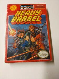 Heavy Barrel video game (Nintendo Entertainment System, 1990) SEALED