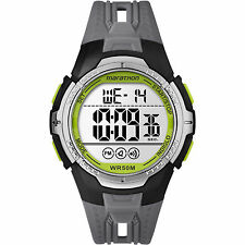 Timex TW5M06700, Men's Marathon Resin Watch, Indiglo, Alarm, TW5M06700M6
