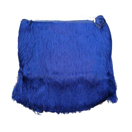 "0.5//1M Long Tassel Fringe Fringing Trim 100cm//39/"" Drop Carfts Latin Costume DIY"