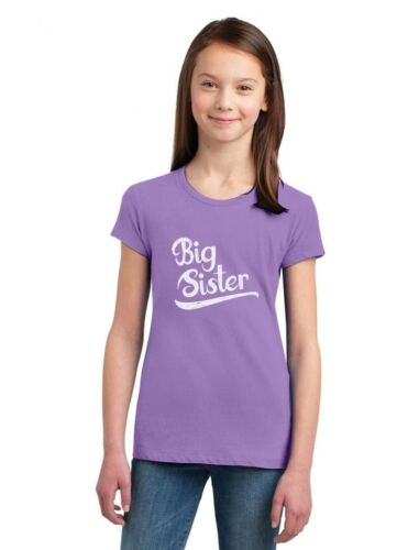 Gift for Big Sister Siblings Gift Girls/' Fitted Kids T-Shirt Siblings Shirts