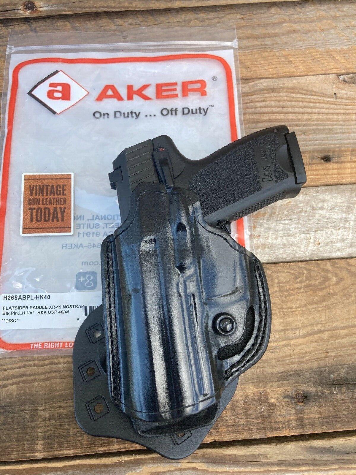 Aker H101TPRU-CO1911 Plain Tan RH Comfort-Flex Shoulder Colt 1911 Gun Holster