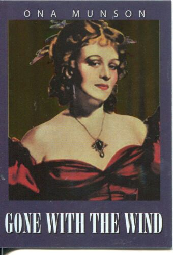 Classic Vintage Movie Posters Gone With The Wind Chase Card CG9