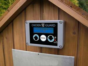 Chickenguard door opener