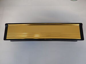 12-GOLD-LETTER-BOX-FOR-uPVC-PVC-TIMBER-DOORS-Letterbox