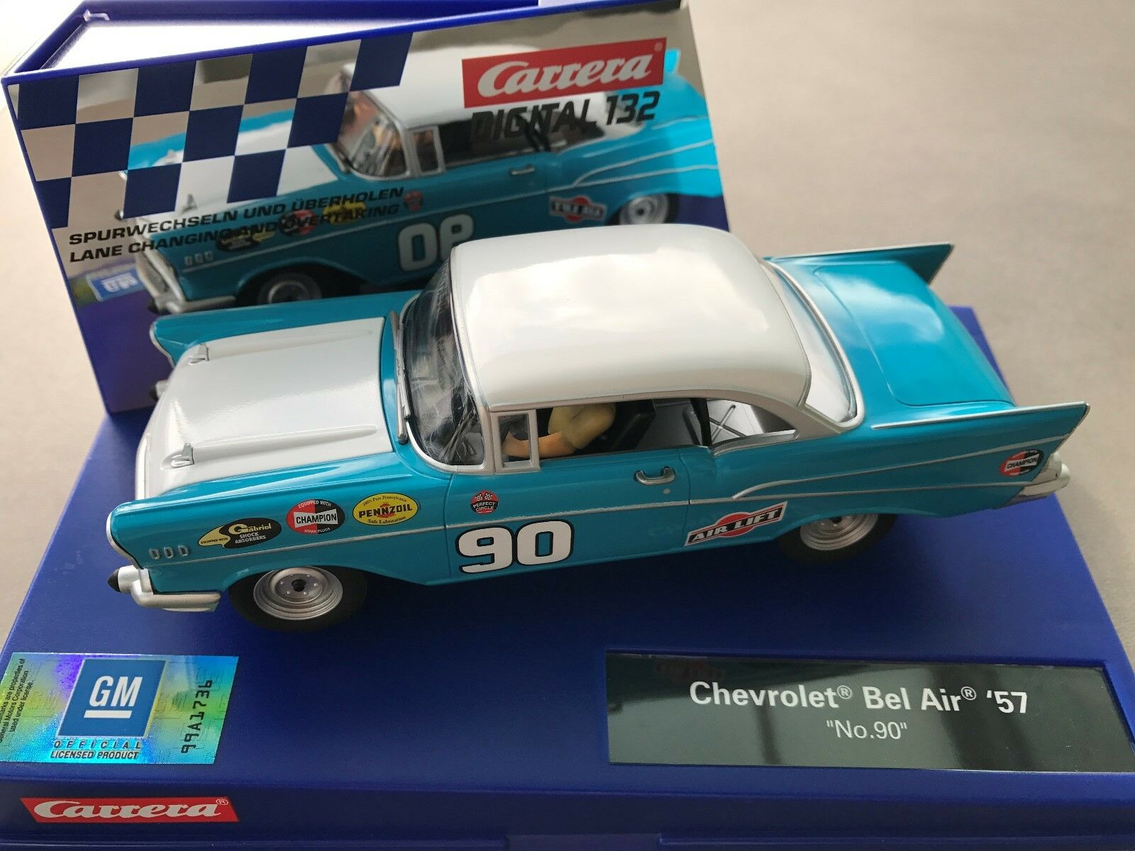Carrera Digital 132 30795 Chevrolet Bel Air '57 No. 90 USA