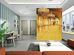 Parete Doro : 3d doro palazzo ·parete murale foto carta da parati immagine sfondo