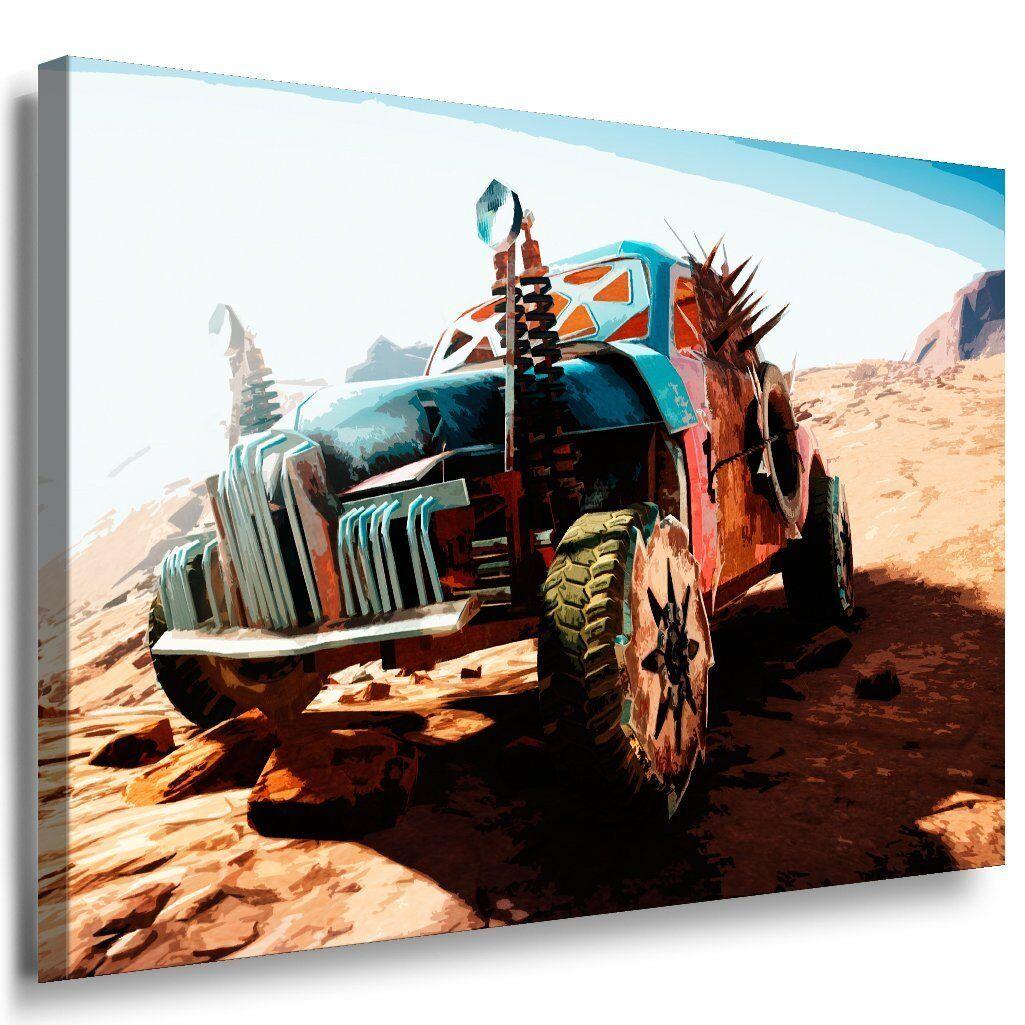 Mad Max Fury Road Leinwandbild AK Art Bilder Mehrfarbig Wandbild TOP GESCHENK