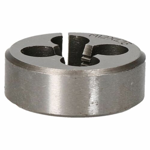 """M12 x 1.75mm Metric Die Nut TD044 Thread Cutter 1.5/"""" 38mm Tungsten Steel"""