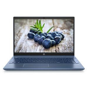 HP-Pavilion-15-6-034-FHD-AMD-Ryzen-5-8GB-RAM-128GB-SSD-1TB-HDD-Webcam-Win-10-Blue