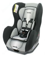 Nania Cosmo Sp 0-4 Yr Rear & Forward Facing Recliner Car Seat Pop Black