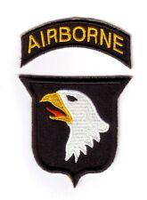 """WWII - 101st AIRBORNE """"Tab Détaché"""" (Reproduction)"""