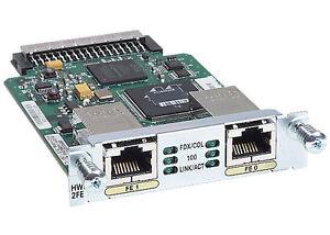 Cisco-HWIC-2FE-Two-Port-Fast-Ethernet-High-Speed-WAN-Interface-Card