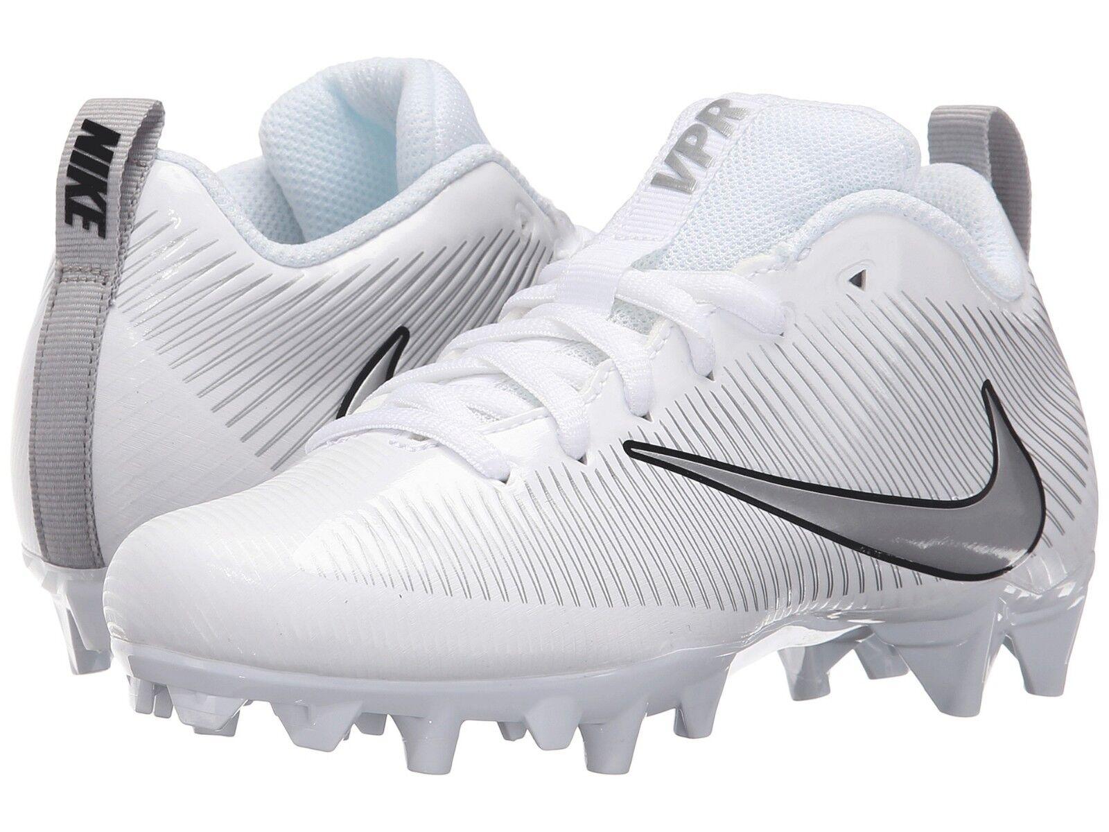 Nike Men's Vapor Strike 5 TD White Football Cleat Shoes