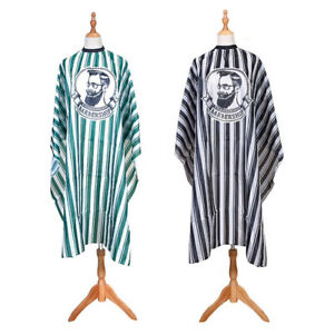 Salon Styling Cape Hair Cutting Hairdressing Gowns Stylist Stripe Haircut Cloth