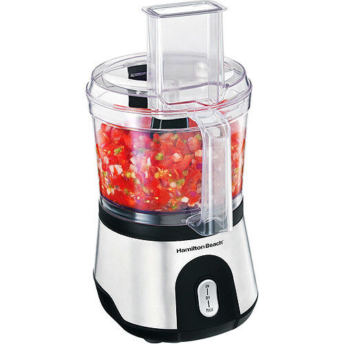 10 Cup-Capacity Powerful Food Processor 500-watts Reversible Slice with Compact