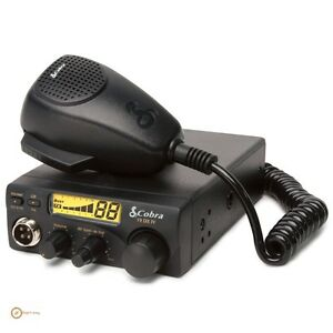Best Cb Radio Kit For Truckers Long Range 40 Channel Compact Car Truck Driver