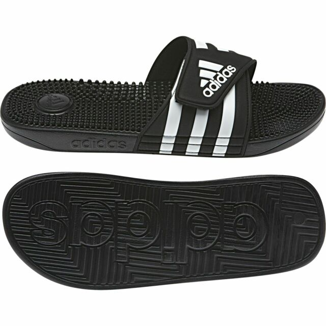Frontera hada mil millones  adidas Adilette Voolossage M Beach Sandals Slippers Massage sandal AQ2650  for sale online | eBay