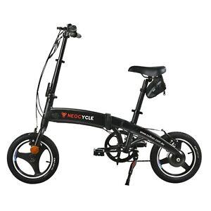 250w Folding Electric Bike Foldable Ebike Bicycle NEOCYCLE 36V Lithium Battery