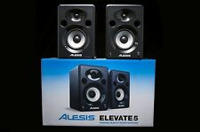 "Alesis Elevate 5 Powered 5"" Desktop Studio Monitor Pair w/ box"