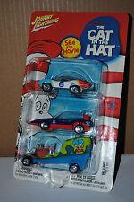 Johnny Lightning -The Cat in The Hat - Dr. Seuss' - 3 Car Pack NIB