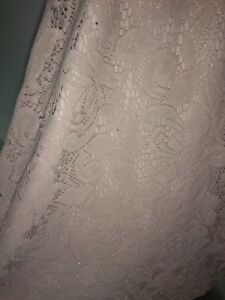 Lace-dress-by-Zara-Sparkly-Champagne-Size-L-Used-once-Very-good-condition