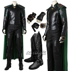 Thor 3 ragnarok loki cosplay costume halloween outfit top grade image is loading thor 3 ragnarok loki cosplay costume halloween outfit solutioingenieria Choice Image