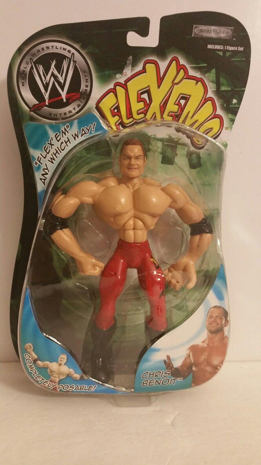WWE flexems CHRIS BENOIT Action Figure (074)