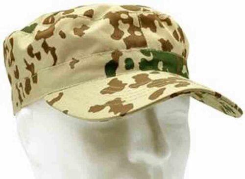 US Cap mit Gummizug Feldmütze Mütze Tarnmuster Camouflage 3-Farben tropentarn