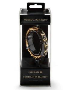 New OEM Case-Mate Rebecca Minkoff Notification Gold//Black Bracelet iOS 7//Above