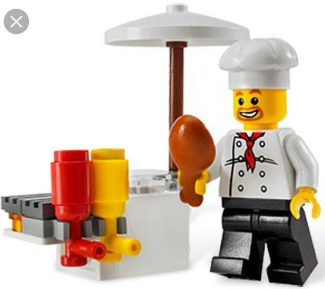 LEGO City Set #8398 BBQ Stand