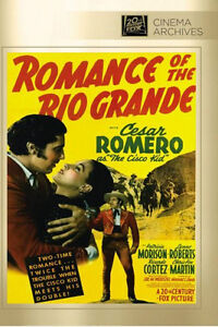 The-Cisco-Enfant-Romance-Of-Rio-Grande-DVD-1941-Cesar-Romero-Patricia-Morison