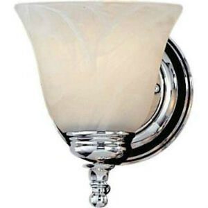 Murray Feiss Elegant Bathroom Sconce Single Light Candle Lamp Shade Vanity Wall eBay