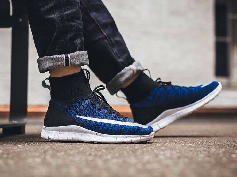 NIKE FREE FLYKNIT MERCURIAL FC Trainers Running Gym - () - RRP