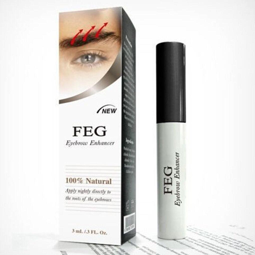 100% ORIGINAL 3ml FEG Eyebrow Enhancer Rapid Growth Darker Serum Liquid