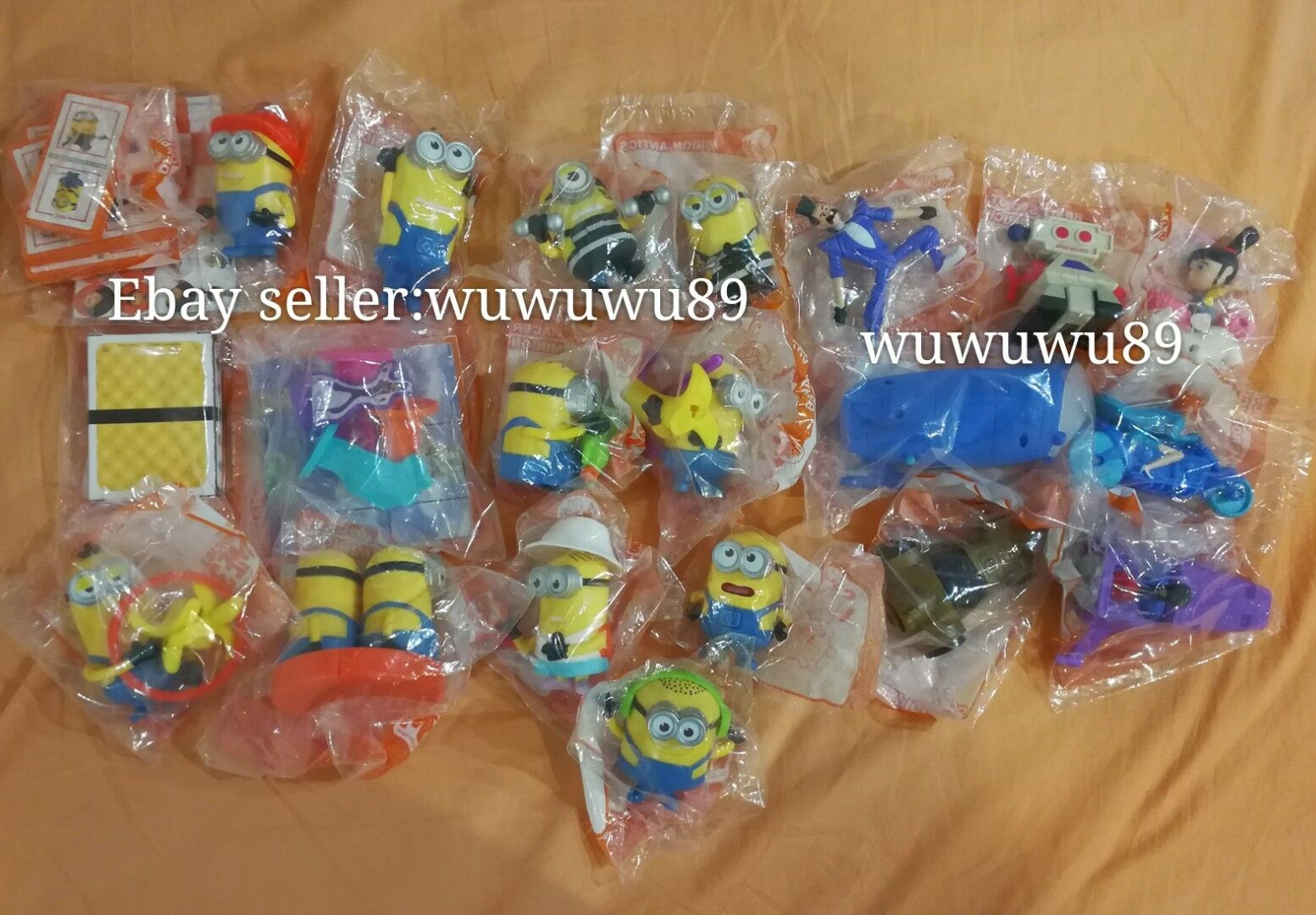 MCDONALD's MINIONS DESPICABLE ME 3 2017 COMPLETE FULL AUSTRALIA Set of 21 SEALED