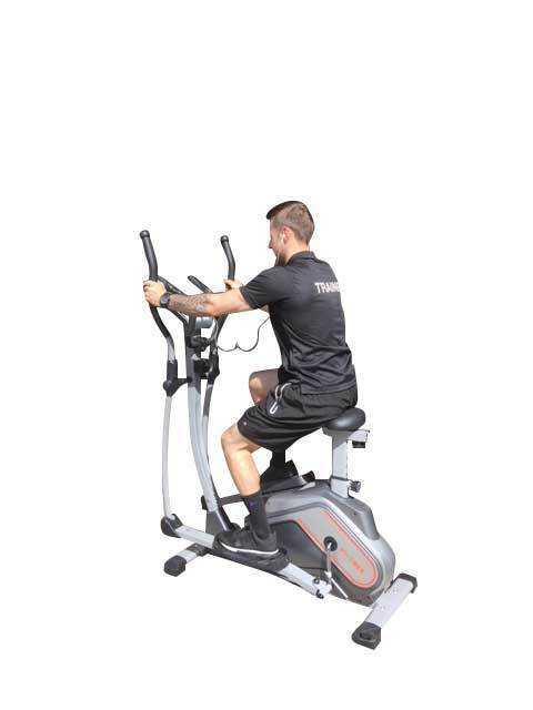 Cross Trainer Exercise Bike with Seat