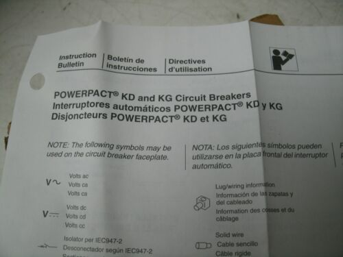 SQUARE D POWERPACT CIRCUIT BREAKER KDL KDL32250 250 AMP 240VAC NEW SEALED BOX