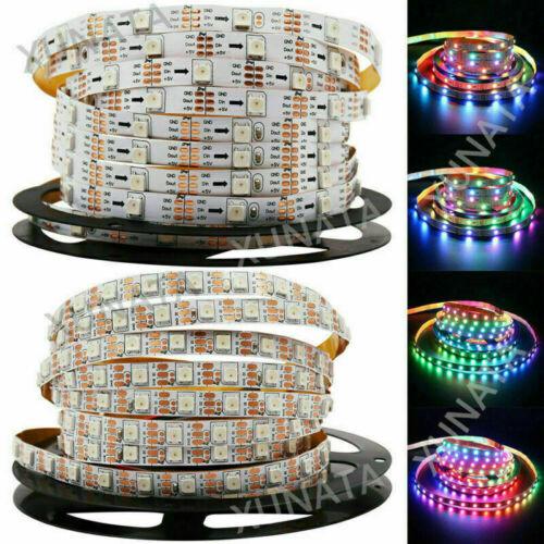 WS2812B LED Streifen 5m WS2812 RGB Licht SMD 5050 Individuell Adressierbar DC5V
