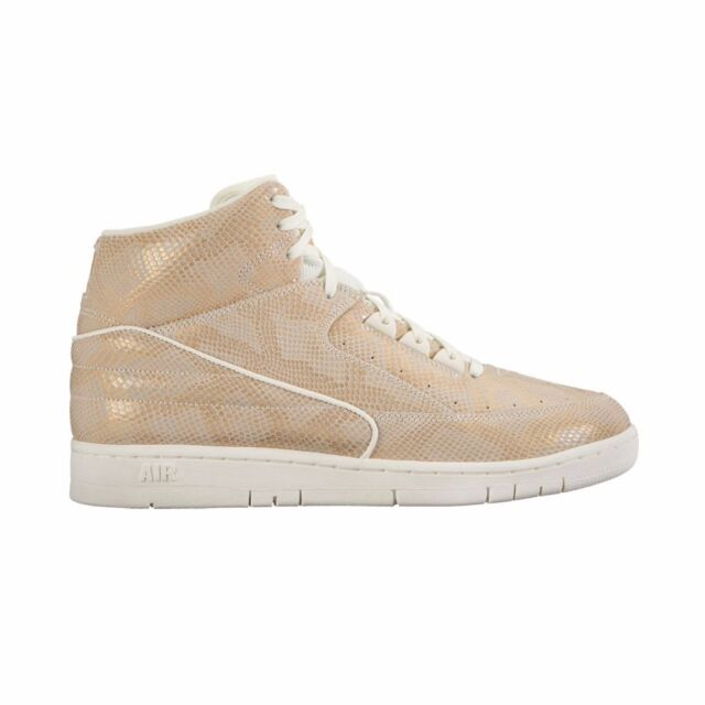 sale retailer f66c2 1b369 Nike Men s Air Python PRM Sail metallic Gold Basketball Shoe 9 Men ...