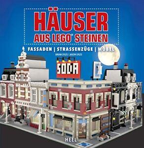 Häuser aus LEGO Steinen Fassaden Straßenzüge Möbel Ratgeber Tipps Info Buch Book