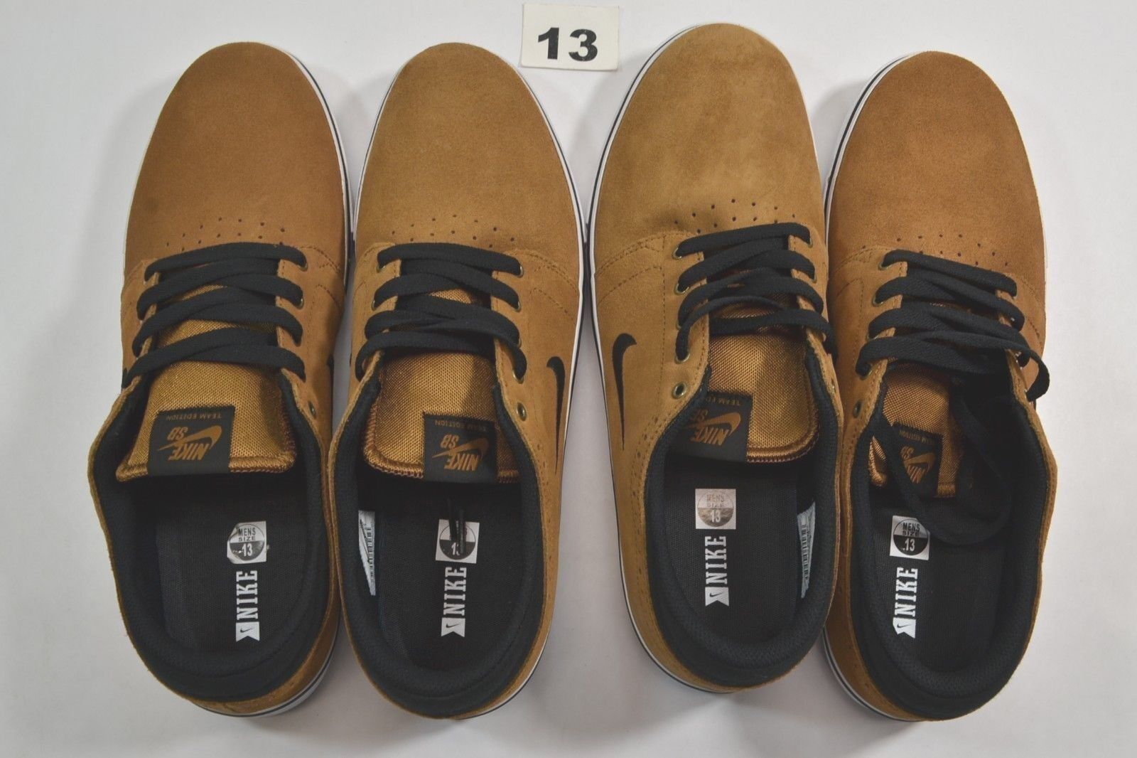 Nike SB TEAM EDITION Ale Discounted Brown noir blanc Suede Discounted Ale (297) homme chaussures de18d2