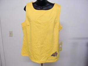 Nuevo-Montana-Estado-Bobcats-Mujer-XL-XL-Disenador-sin-Mangas-Camisa-Meesh-amp-Mia