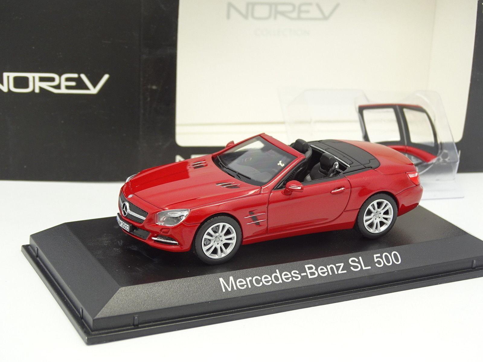 Norev 1 43 - Mercedes SL 500 Rouge