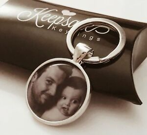 Personalised-Custom-Photo-Keyring-Chain-Birthday-Fathers-Day-Present-Gift-Box