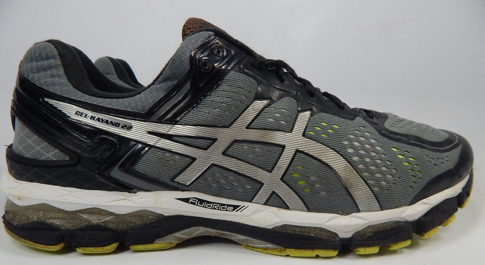 Asics Gel Kayano 22 Size  US 14 M (D) EU 49 Men's Running shoes Silver T547N