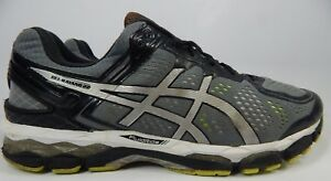 Asics-Gel-Kayano-22-Taille-US-14-M-D-Eu-49-Homme-Chaussures-Course-Argent